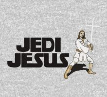 Jedi Jesus with cross by RobertKShaw