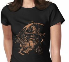 Reaper Out West Womens Fitted T-Shirt