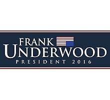 Frank Underwood Photographic Print