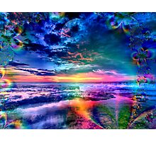 Sky of Heavenly Wonders Photographic Print