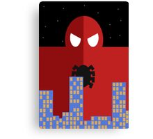 Spider-man Poster Canvas Print