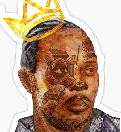 Omar The King Sticker