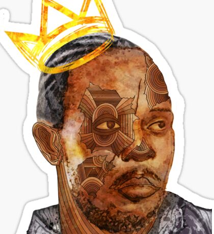 Omar The King Sticker
