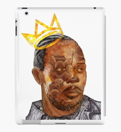 Omar The King iPad Case/Skin