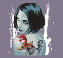 Lisbeth Salander - The girl with the dragon tattoo by elektro