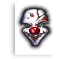 Scary Joker  Canvas Print