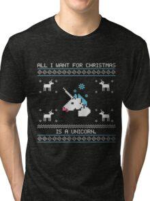 IISuperwomanII Christmas Edition Hoodies! Tri-blend T-Shirt