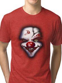 Scary Joker  Tri-blend T-Shirt
