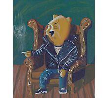 Smoking Winnie The Pooh Photographic Print