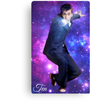 Ten In Stars Canvas Print