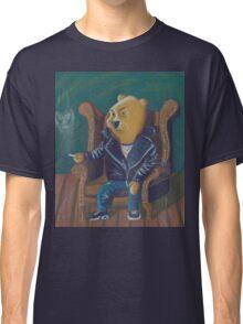 Smoking Winnie The Pooh Classic T-Shirt
