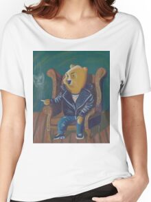 Smoking Winnie The Pooh Women's Relaxed Fit T-Shirt