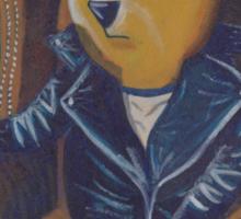 Smoking Winnie The Pooh Sticker