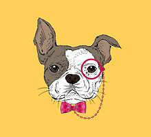 French bulldog (orange) by LauraWoollin