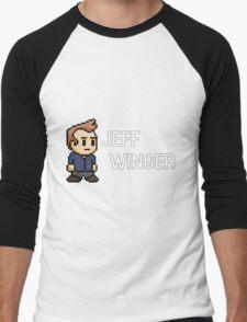 Jeff Winger - Community Men's Baseball ¾ T-Shirt