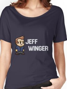 Jeff Winger - Community Women's Relaxed Fit T-Shirt