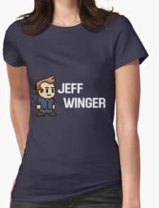 Jeff Winger - Community Womens Fitted T-Shirt