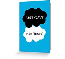 TFIOS Birthday Card Greeting Card