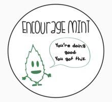 Encourage Mint Sticker by CoinWear