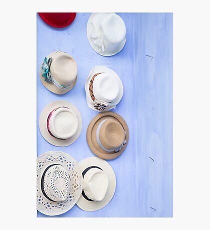 Hats, Hats, Hats Photographic Print