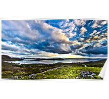 Scottish Skies, Achiltibuie in the Scottish Highlands Poster