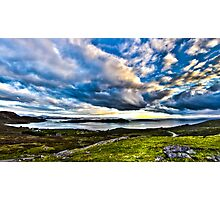 Scottish Skies, Achiltibuie in the Scottish Highlands Photographic Print