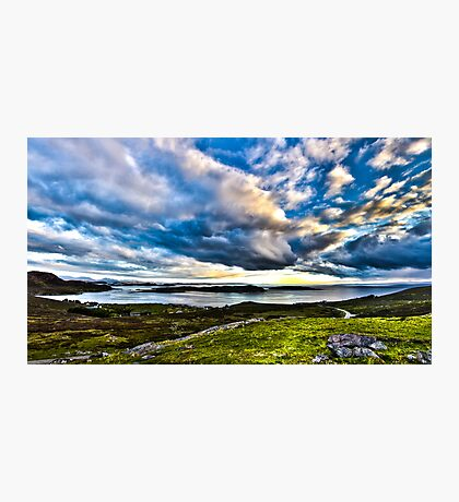 Scottish Skies, Achiltibuie in the Scottish Highlands Photographic Print