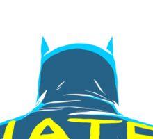 Post-Punk Bat: Control Sticker