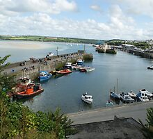 """Padstow Harbour"" by LAH photography by lisamaffialove"