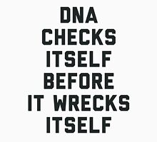 DNA Checks Itself Men's Baseball ¾ T-Shirt