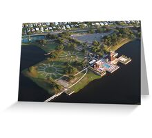 Barefoot Bay Clubhouse Greeting Card