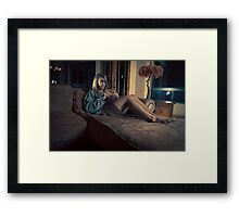 Never home Framed Print