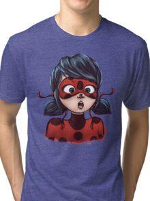 Ladybug Meets Ladybug Tri-blend T-Shirt