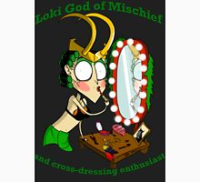 Loki cross dressing enthusiast  Unisex T-Shirt