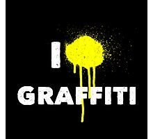 I heart Graffiti Photographic Print