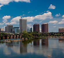 Richmond, Virginia Cityscape by Michael Kaczor