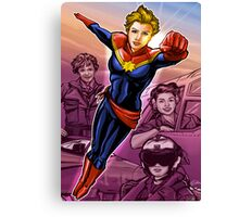 Marvelous Captain Canvas Print
