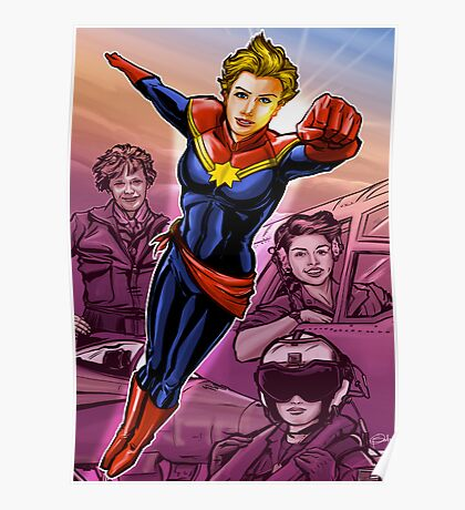 Marvelous Captain Poster