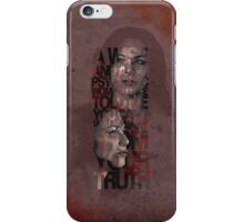 You Can't Walk Away From Your Truth iPhone Case/Skin