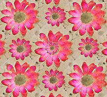 Colorful Floral Pattern by DFLC Prints