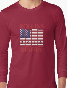 Rollins Biafra 2016 Long Sleeve T-Shirt