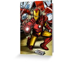Man of Iron Greeting Card