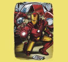 Man of Iron Kids Clothes