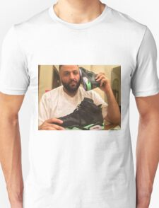 DJ Khaled Shoe Phone Unisex T-Shirt