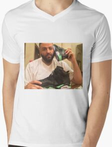 DJ Khaled Shoe Phone Mens V-Neck T-Shirt