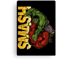 Smash Canvas Print