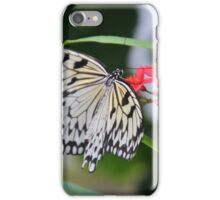 Black and White Butterfly iPhone Case/Skin