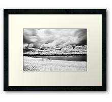 Erosion of time - Merrimu Victoria Framed Print