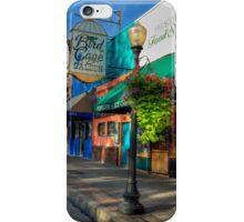 Historical Whiskey Row Prescott Arizona iPhone Case/Skin