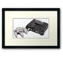 Nintendo 64 Console Framed Print